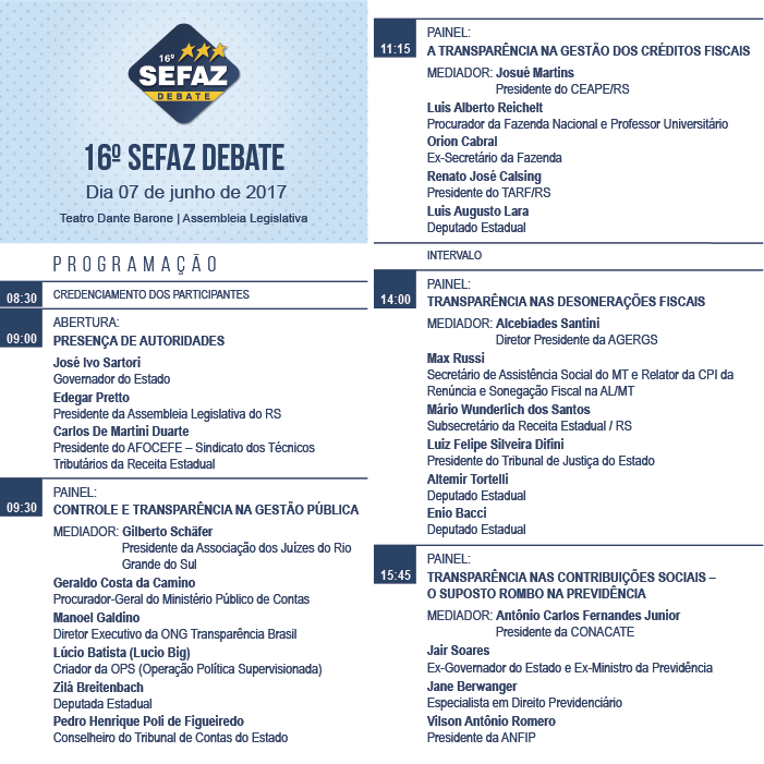 SEFAZ DEBATE RS